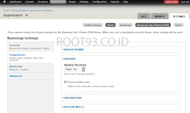 mengatur navbar bootstrap langkah pertama