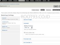 Pengaturan Navbar Template Bootstrap Drupal