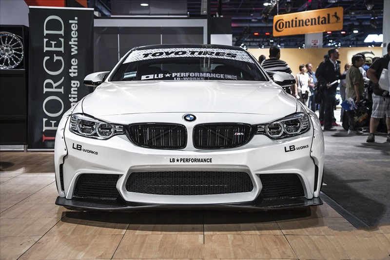 LB Performance BMW F82 M4 The spoiler on the trunk lid Liberty Walk