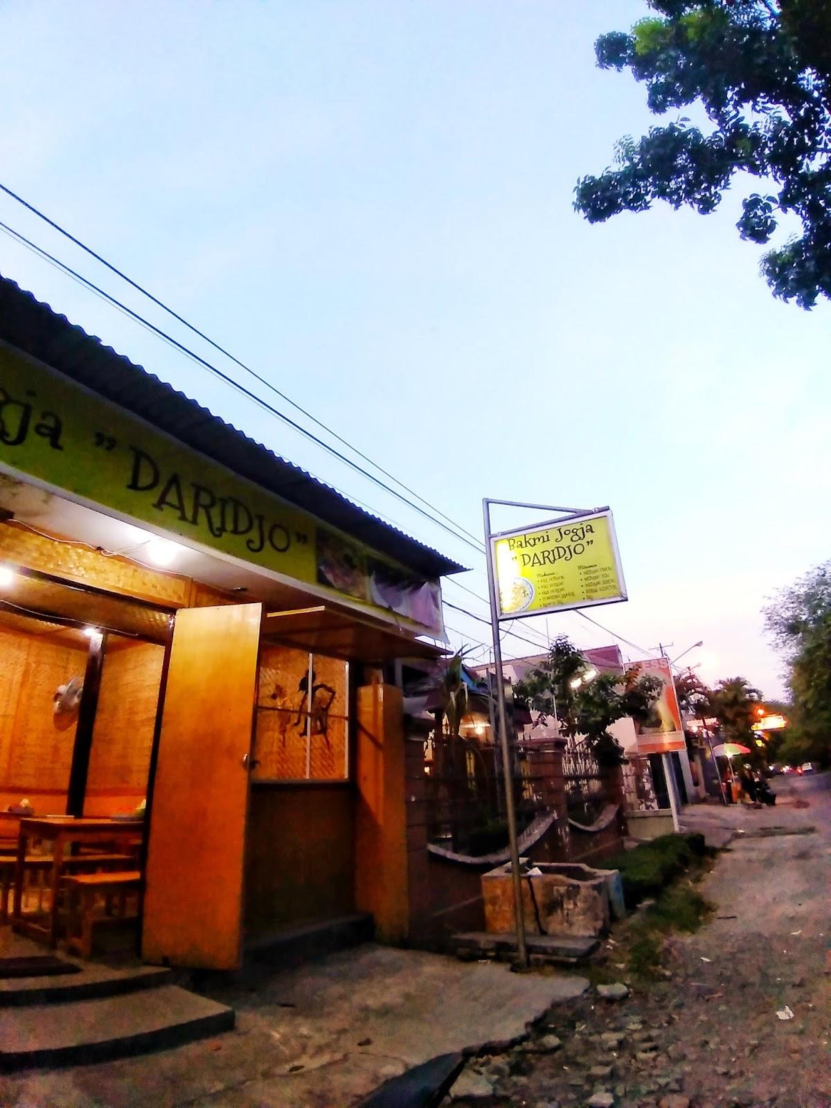 Menyantap Bakmi Jogja Di Surabaya - Bakmi Jogja Daridjo