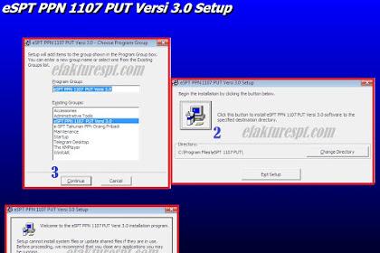 Cara Install eSPT PPN 1107 PUT Versi 3.0 Terbaru