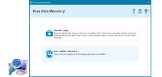 برنامج Free Data Recovery إعادة المحذوفات فى نظام التشغيل ويندوز والفلاش ميمري