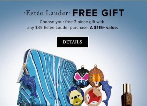 Hudson's Bay Free Estee Lauder Gift