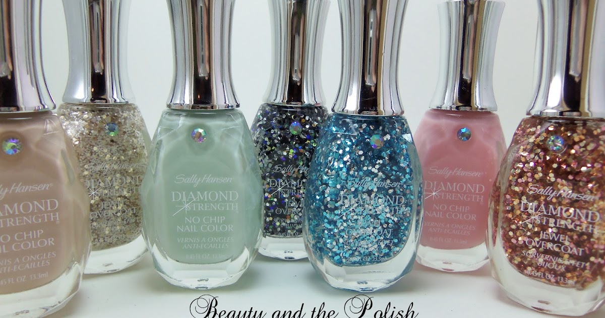 Beauty And The Polish New Sally Hansen Diamond Strength Swatches