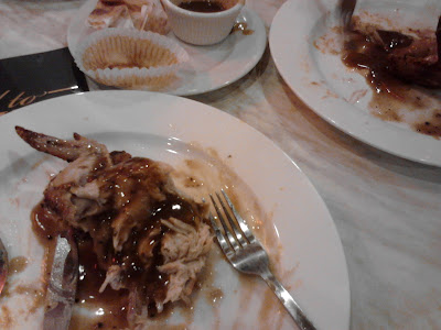 Pakcu makan Kenny Rogers Roasters di Jaya Shopping Centre Petaling Jaya