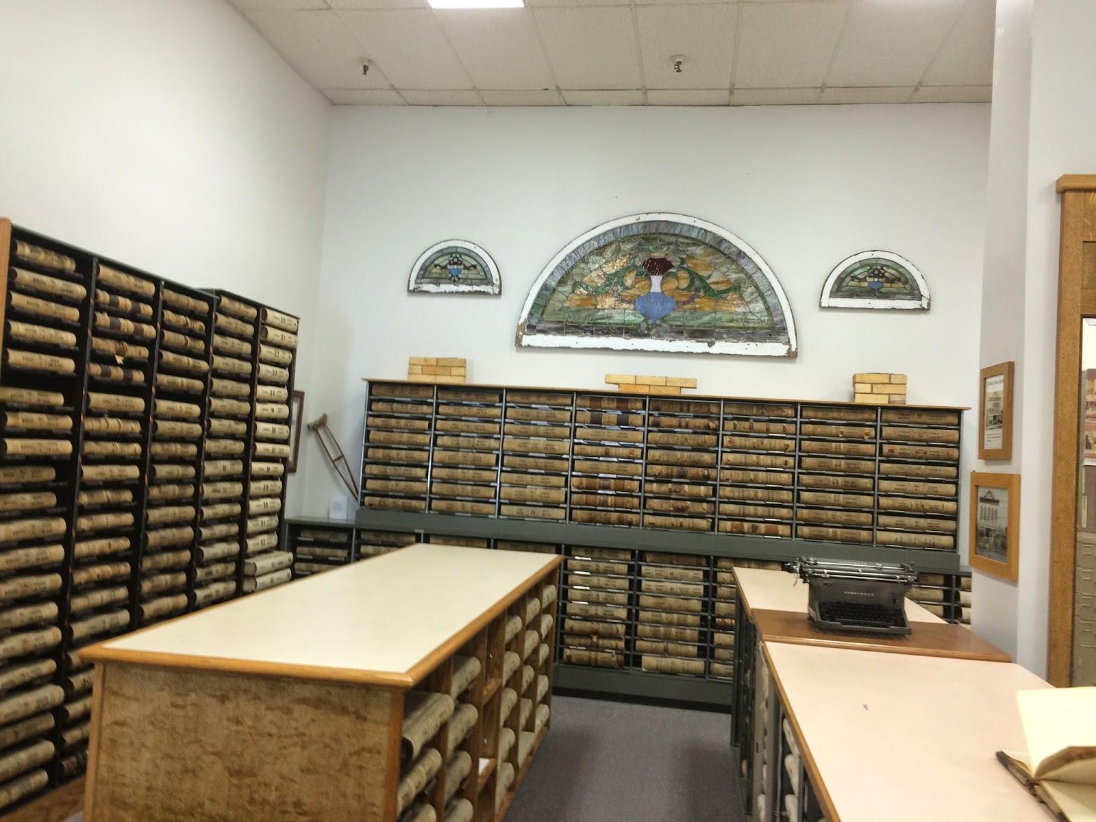 The Overachieving Archivist: Greene County Records Center
