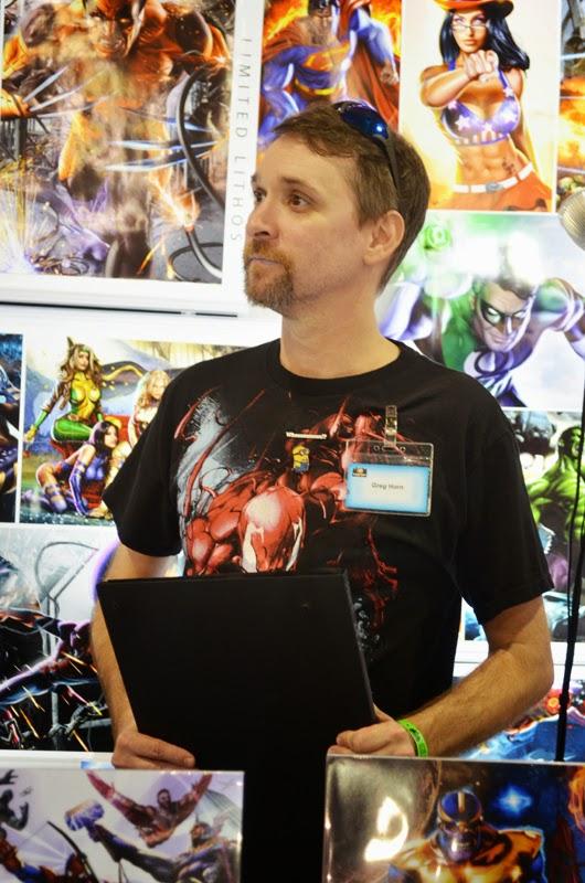 Artist / Creator Greg Horn at Wizard World Philadelphia 2014 Comic Con