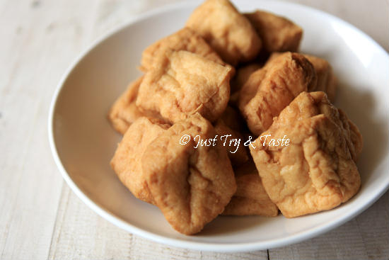 Resep Yong Tau Foo dengan Saus Pedas Asam Manis