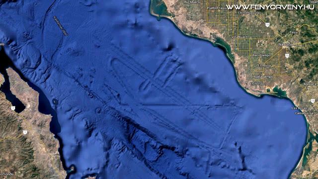 Víz alatti város, vagy hatalmas UFO-bázis a tenger alatt?