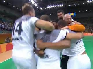 Francia derrota a Alemania