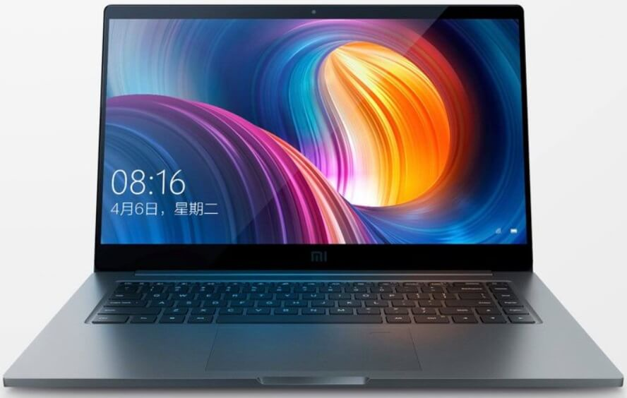 Xiaomi Mi Notebook Pro; 15.6-inch Display, 8th Gen Intel CPU, NVIDIA MX150 GPU, 16GB RAM