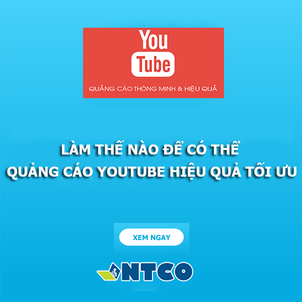 chay quang cao tren youtube