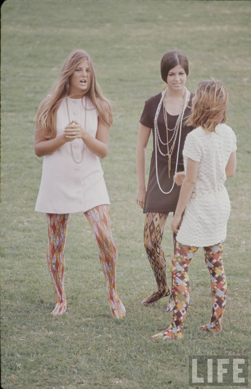 hippie high school fashion 1969