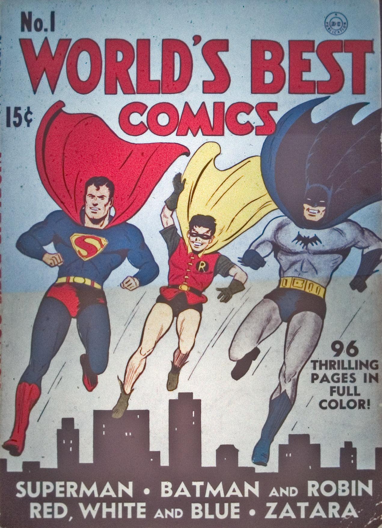 Read online World's Finest Comics comic -  Issue #1 - 1
