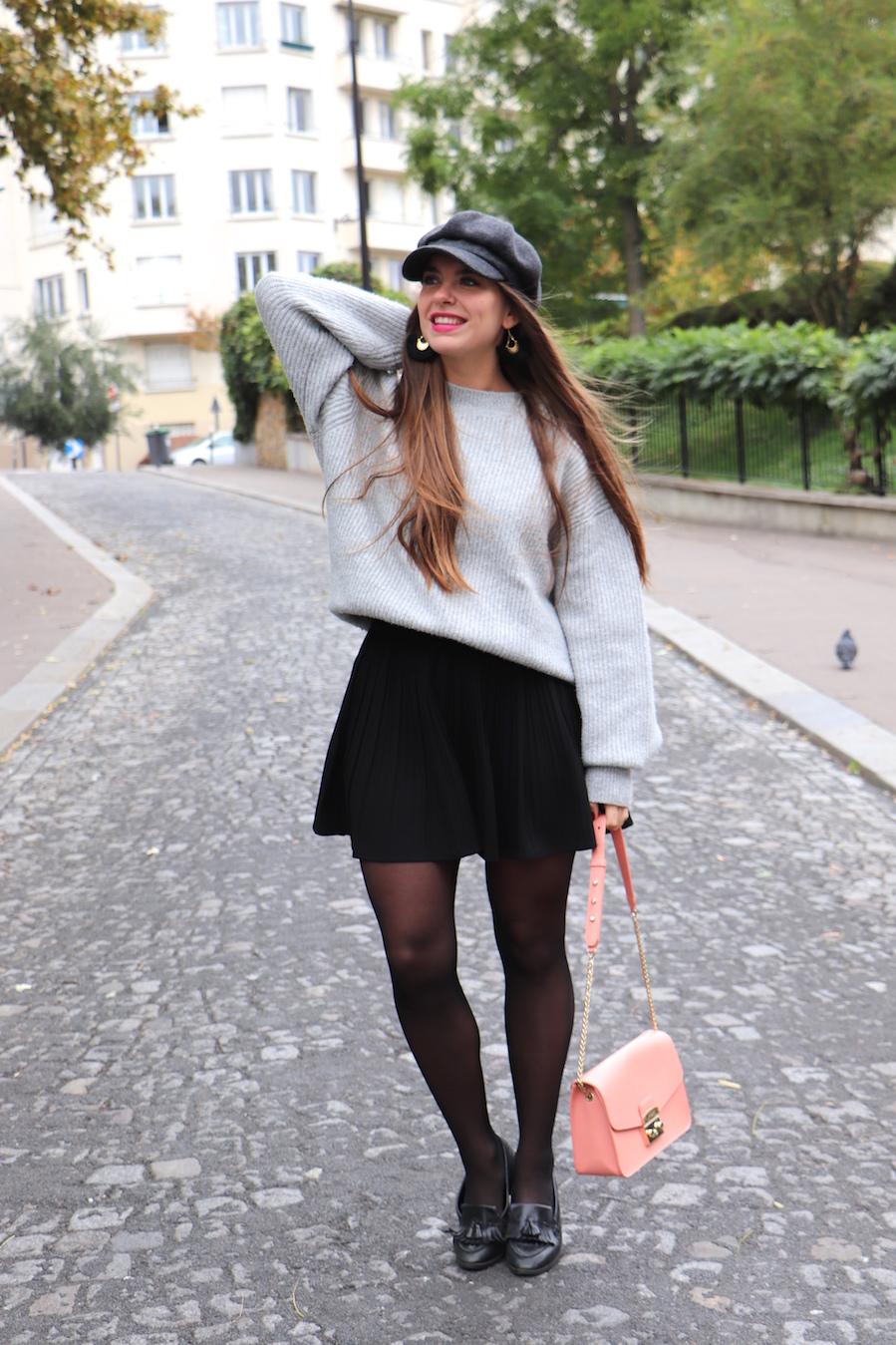 blogueuse mode casquette gavroche