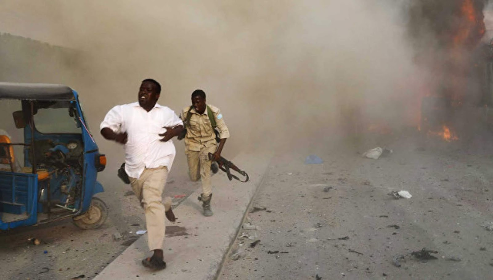 Di Somalia, 20 orang tewas sebagai akibat serangan teroris
