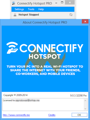connectify hotspot 2015 max crack