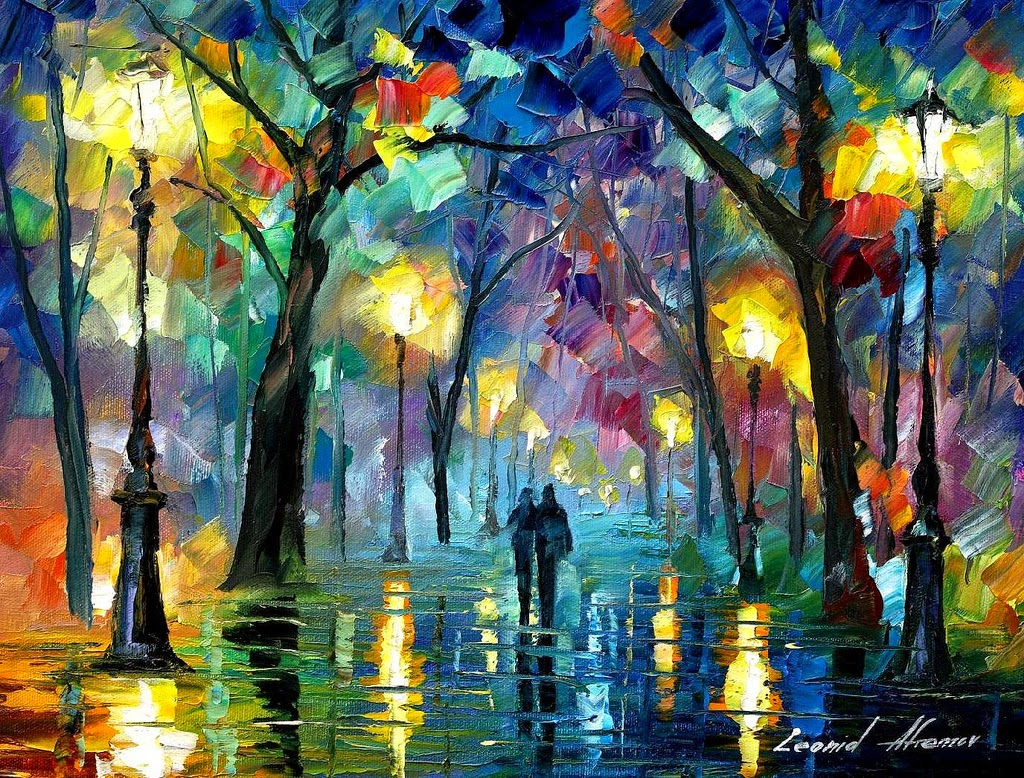 26-Leonid-Afremov-Expression-of-Love-for-the-Art-Of-Painting-www-designstack-co