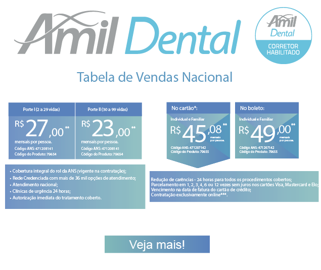 Contrate seu Amil Dental On-Line