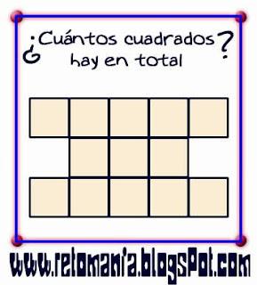 Descubre el número, El número que falta. Piensa rápido, ¿Cuál es el número que falta?, ¿Cuál es el número que sigue?, ¿Cuántos cuadrados hay?