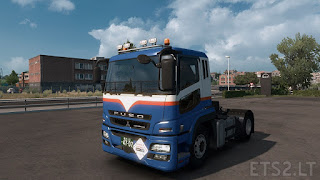 Mod truck Fuso super great ets2 v1.30