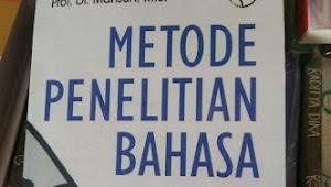 RESUM METODE PENELITIAN BAHASA MAHSUN