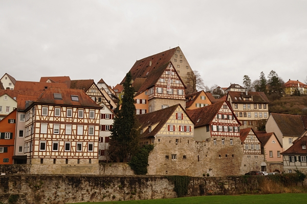 Old Town in Schwäbisch Hall, Germany