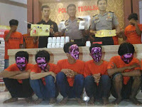 Anak SMP Edarkan Pil Yakuza, Dimasukkan sel Malah Guyon Cengengesan