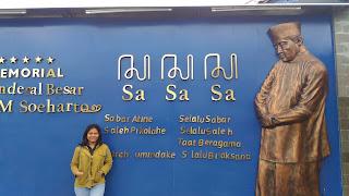 SEJARAH HIDUP PRESIDEN INDONESIA DI MUSEUM H.M SOEHARTO