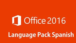 change office 2016 language pack