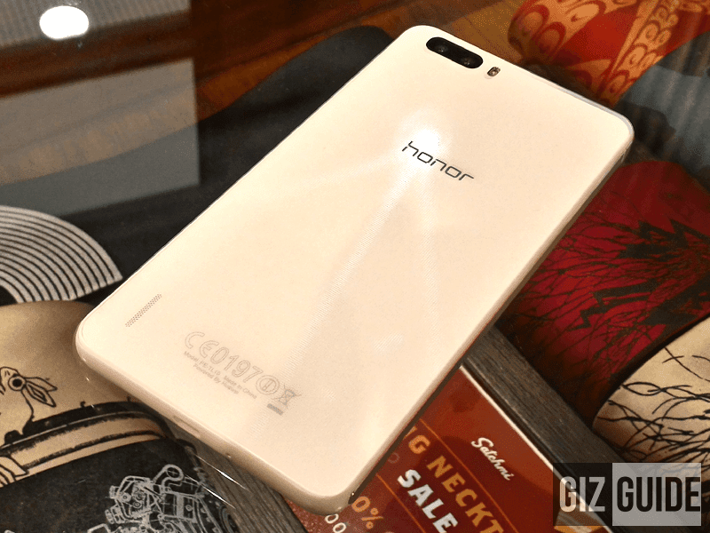 Honor 6 Plus price cut down to 11,990 Pesos