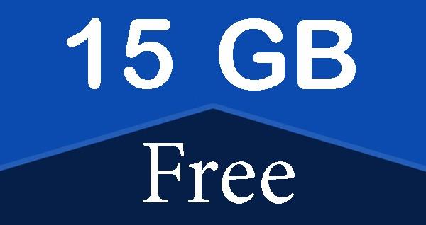 15 جيجا مجاناً تمنحهم شركة جوجل لمستخدميها
