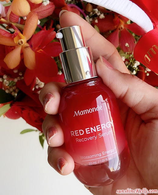 Mamonde Red Energy Recovery Serum, mamonde, beauty, k beauty