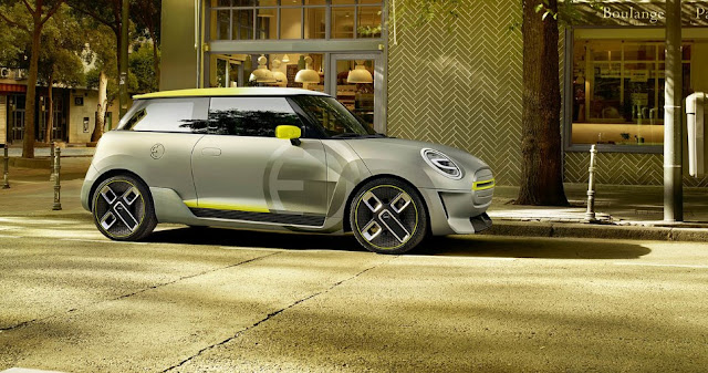 The MINI Electric Concept is the promise of an electric future
