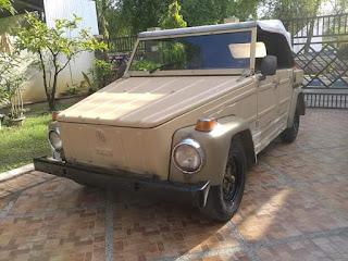 Dijual mobil klasik VW safari harga murah mendesah