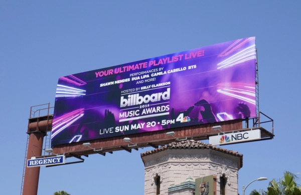 BIllboard 2018 Music Awards ad