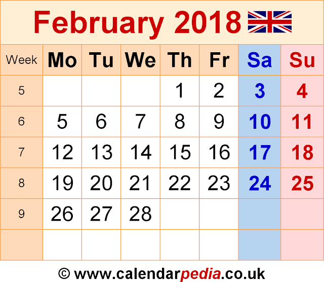 Key dates for CIMA February 2018 exam - Timetable