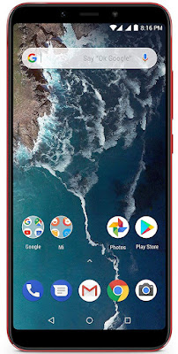 Mi A2 (Red, 4GB RAM, 64GB Storage)