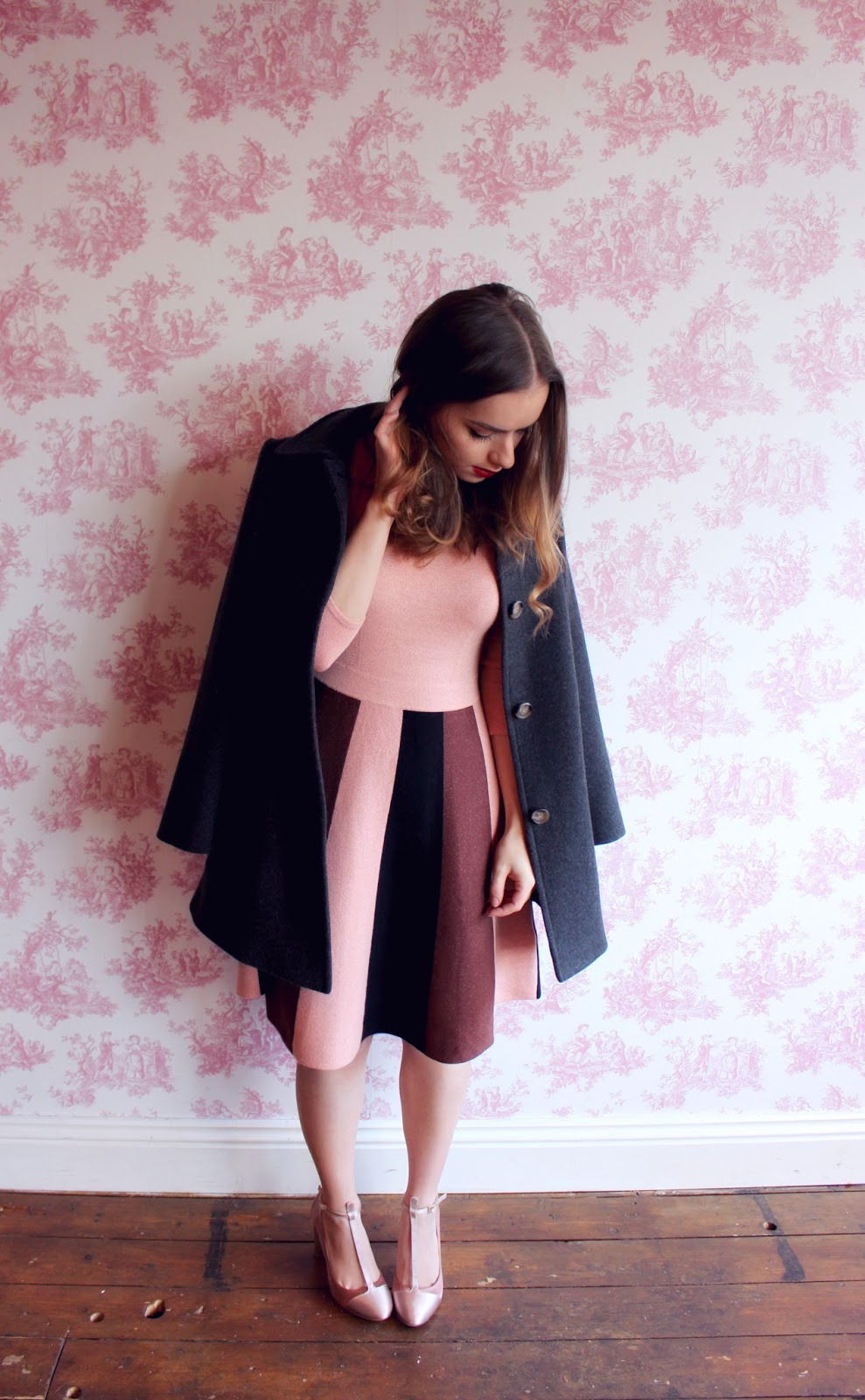 Boden Pink Dress and Coat