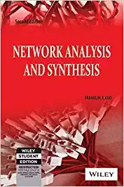 Network Analysis and Synthesis by Frankline F Kuo