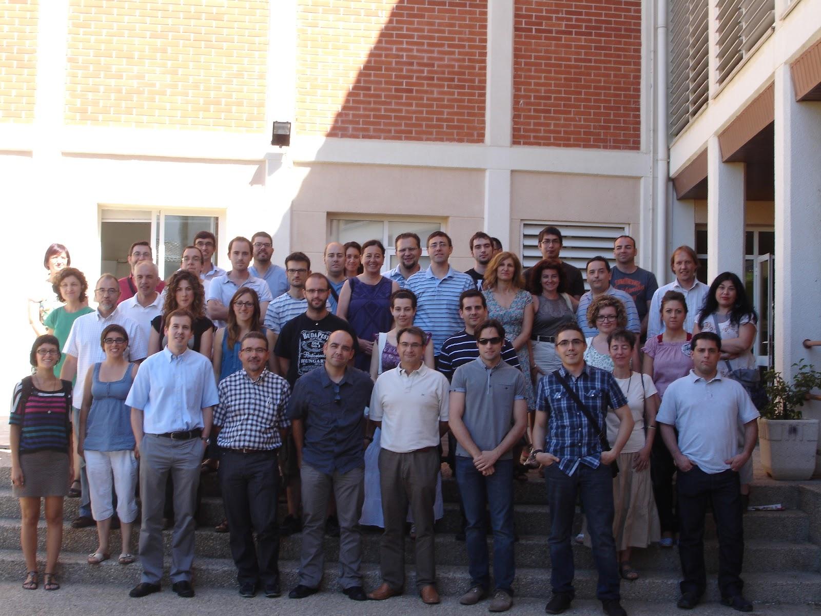 Asistentes al curso de Archivo y Gestión Documental ante la Web Semántica.