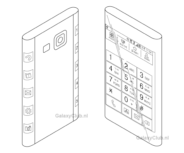 Samsung Galaxy Note 4 reported to come with a three-sided