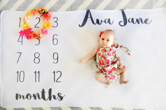 ava jane baby girl milestone blanket pregnancy ideas 2 months old