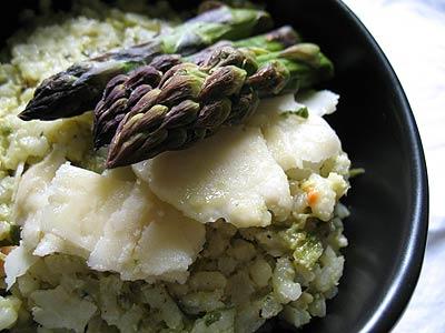Asparagus Pesto Rice