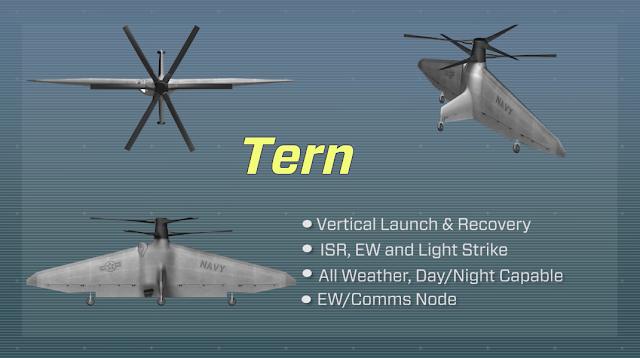 Tern seriam drones totalmente autônomos