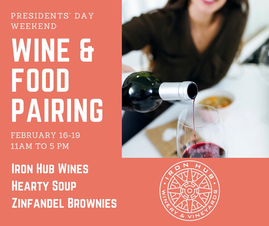 Presidents 39 Day Weekend Wine Food