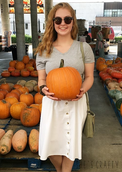 end of the month, Nashville Farmers Market, pumpkins