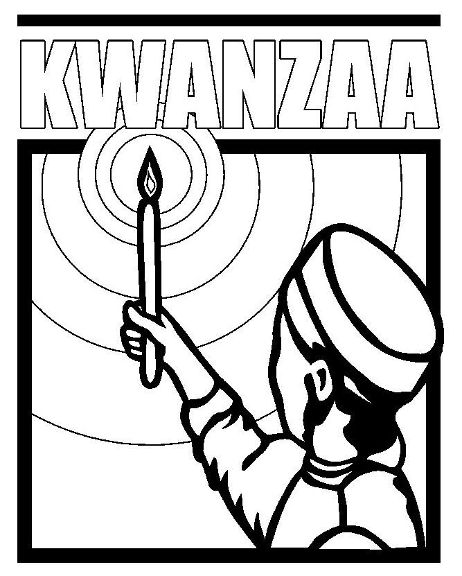 Quanza coloring pages ~ Seasonal Coloring Sheets: Kwanzaa Day Coloring Pages