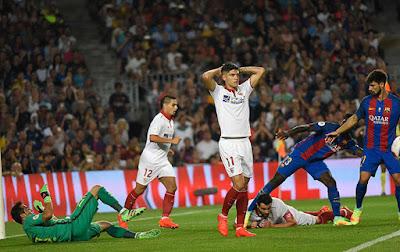 Crónica FC Barcelona 3 - Sevilla FC 0