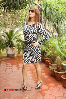 Actress Saloni Latest Pos in Short Dress  0276.JPG